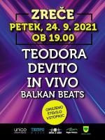 TEODORA, DEVITO, IN VIVO, BALKAN BEATS
