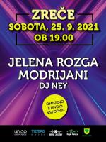 JELENA ROZGA, MODRIJANI, DJ NEY